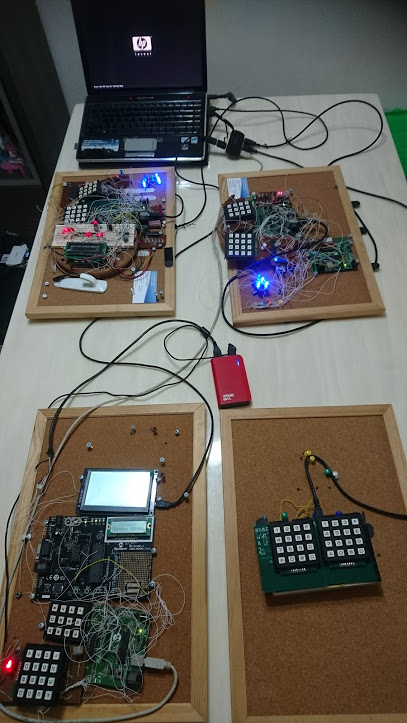 EngineeeringComputerWorks.com projects mounted on board and available for sale. These projects are a part of the projects from Prof Dr Chan Junt Hoong FIET FIEEE BEng CEng and are available in the same format as shown with Keypads in 12-key and 16-key form and configurations which can be added or changed according to the users. For enquiries, please contact : cjhoong@msn.com , chan_junt_hoong@ieee.org , chanjunthoong@theiet.org .