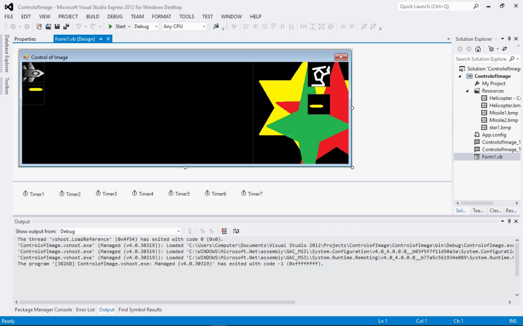Programming in Microsoft Visual Basic 2012 of the program Control of Images with EngineeeringComputerWorks.com ComputerControlSystem shown in the movie and video below of 3.15GBytes showing a partial working system while programming and teaching fellow friends and people who are interested in knowing programming with Microsoft and utilizing the EngineeeringComputerworks.com ComputerControlSystem. Published with permission from Microsoft and created by Prof Dr Chan Junt Hoong FIET FIEEE BEng CEng .