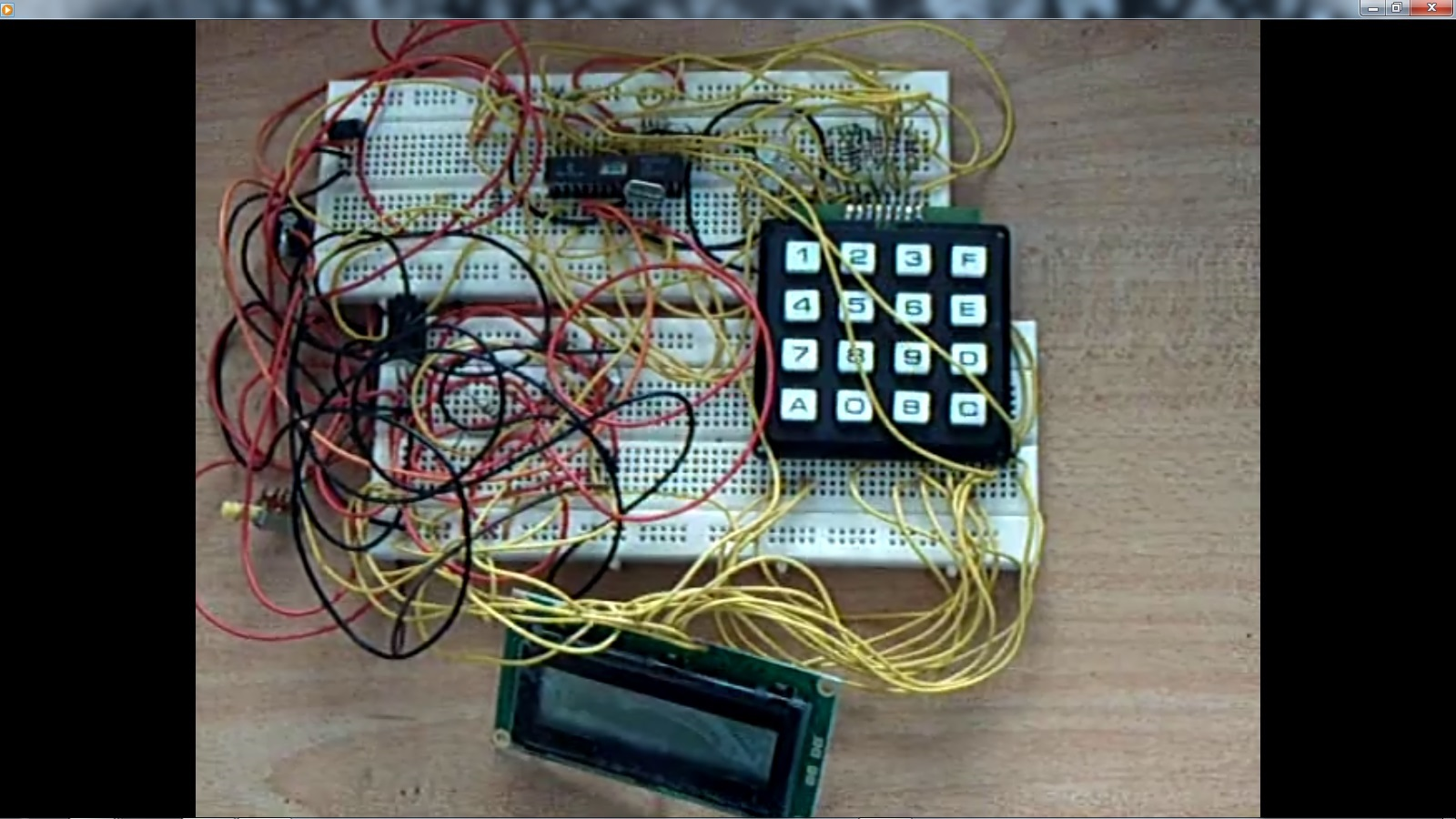 Prof Dr Chan Junt Hoong FIET FIEEE BEng built the Computer Control System in 2003 as below in the first prototypes as displayed below with the 40 pin version in the later years . In the pictures and videos below, the prototypes are pictures connected together with the Microchip PIC 16C63A 28-pin version and Microchip PIC 16F1973A 40-pin version. The Microchip PIC 16F1973A with it's large memory was utilized as a text storage input and output, as a data storage for data in and output as data out and repeatable. Written and created by Prof Dr Chan Junt Hoong FIET FIEEE BEng CEng.