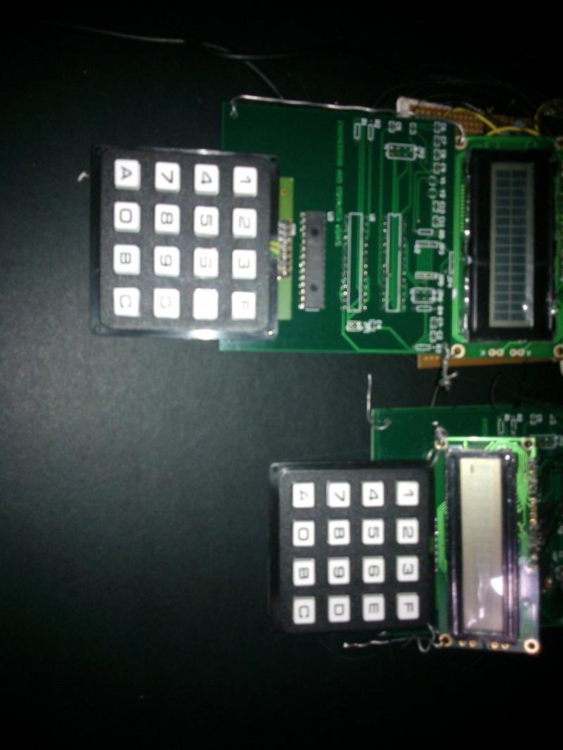 Control System with clock platform and EComputerWorks PCB