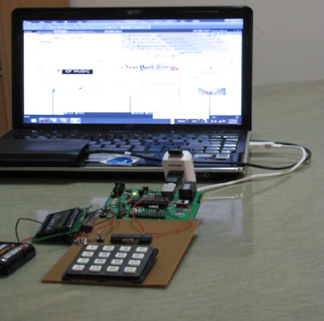 USB Control system with computer application