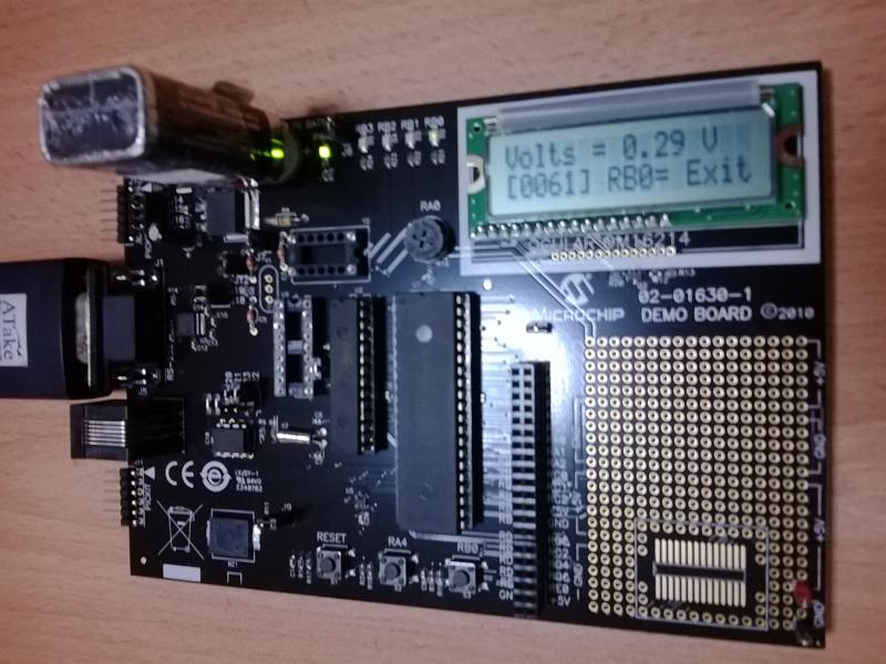 MIcrochip's Demo Board