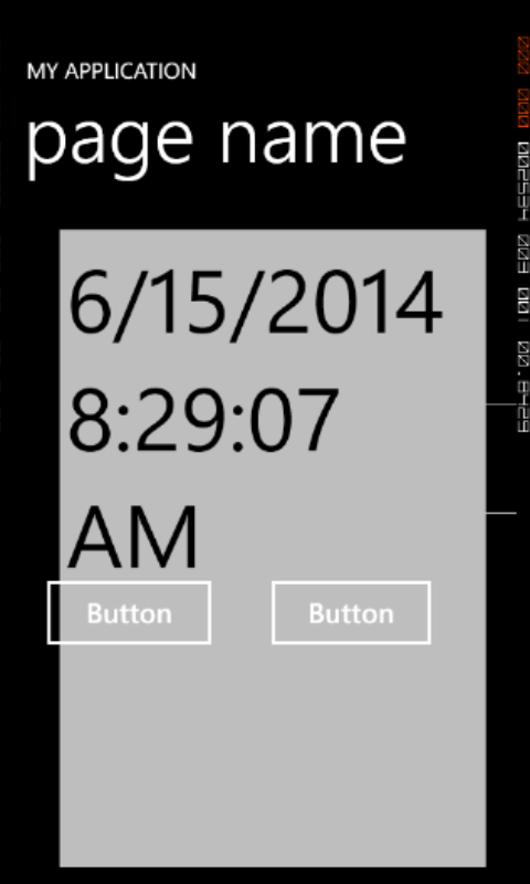 Static Date and Time