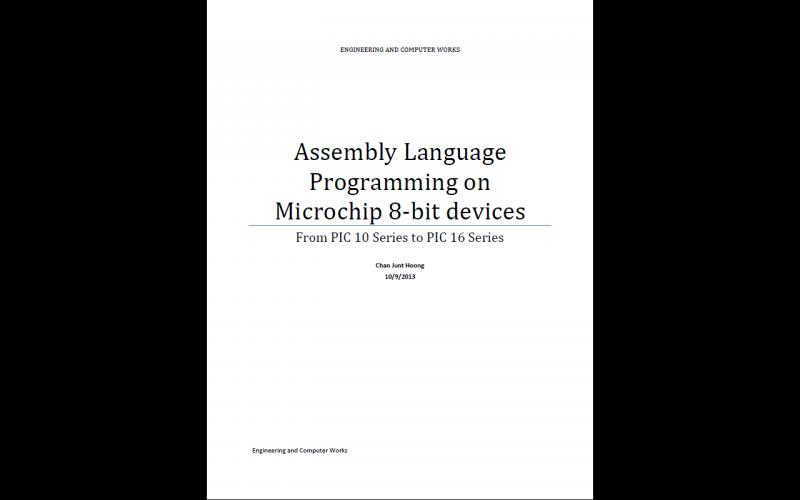 Assembly Language Programming  source codes for Microchip 8-bit from EC Works