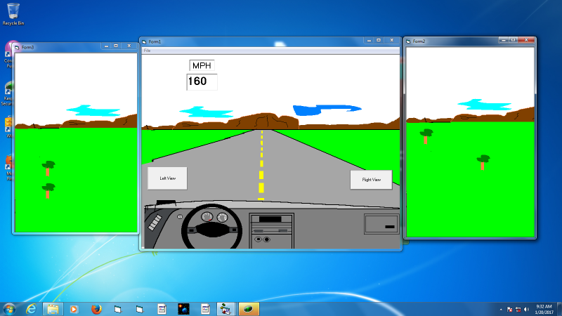 Driving Simulation with Control System
