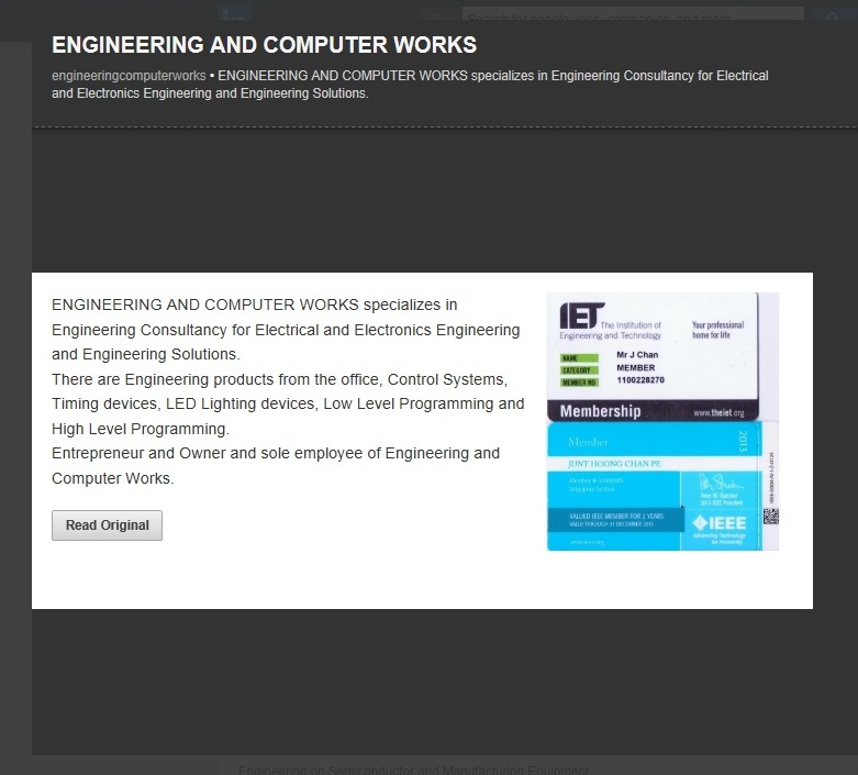 Engineering and Computer Works