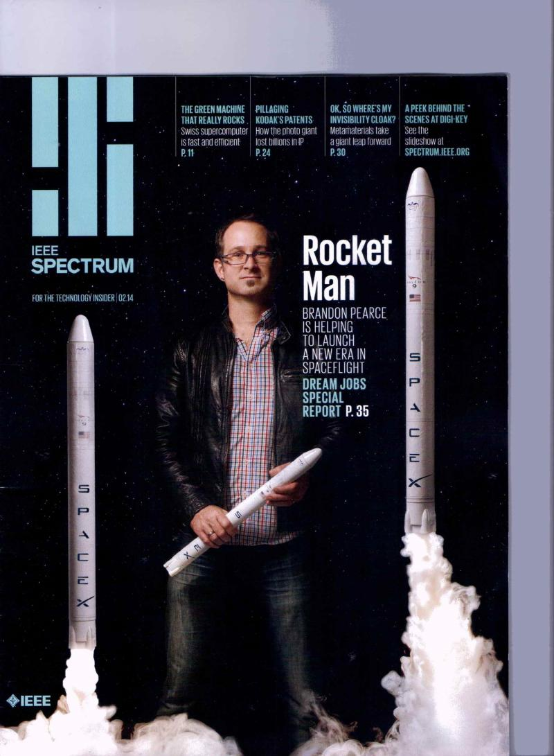 IEEE Spectrum Magazine April 2014, March 2014, February 2014 and