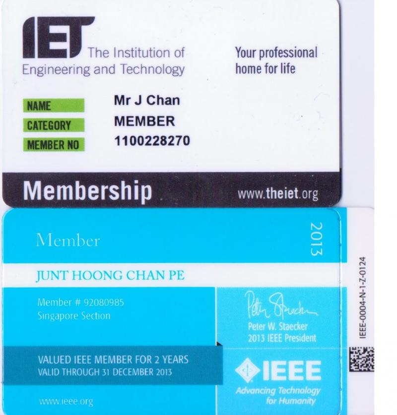 Electrical and Electronics Engineering Memberships