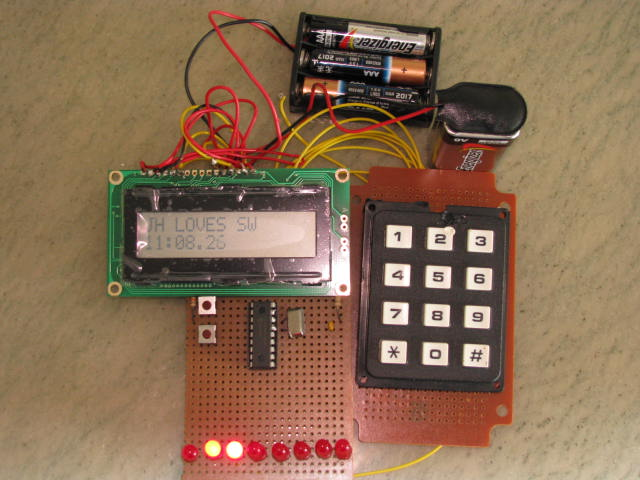 Stand Alone Controller able to switch Microchip between switch and clock