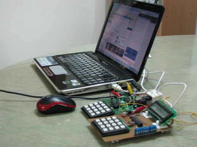 Development of Control System with development board and prototype board