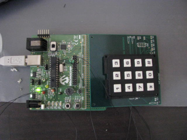 Control System and Keypad on Platform