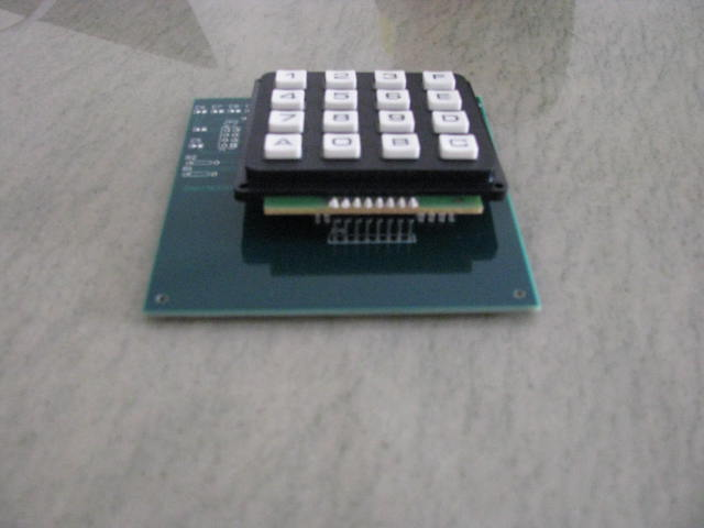Keypad fitting control circuit PCB