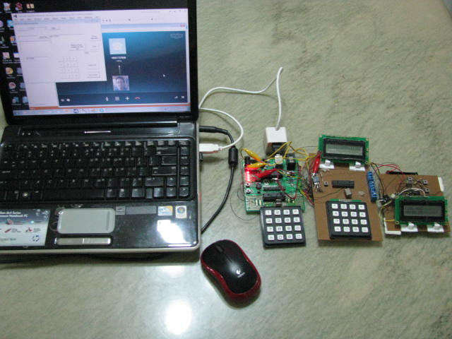 Development of Control System and clock powered by USB