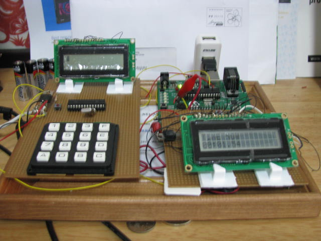 Control system and clock