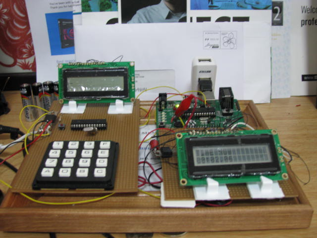 Control System and clock, USB powered
