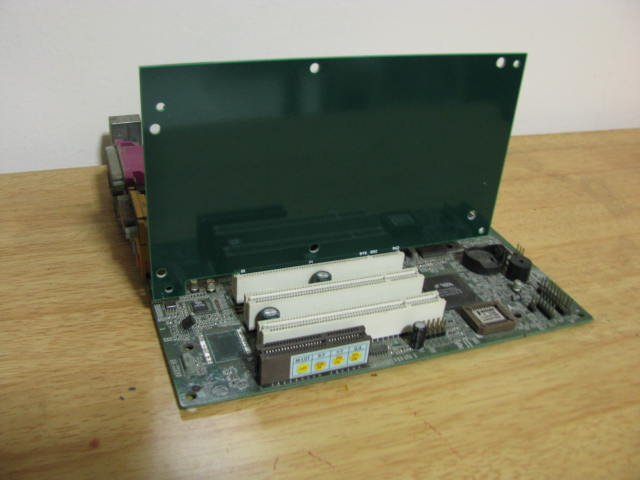 PCI board fitting
