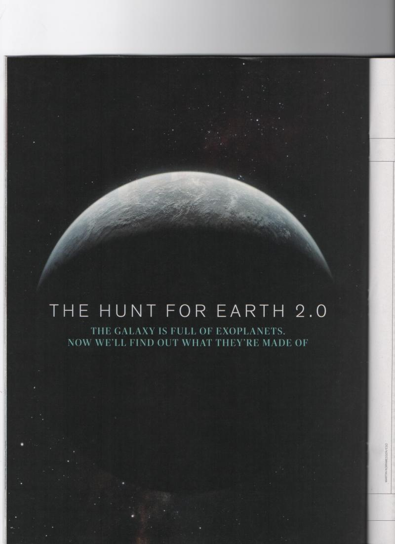 The Hunt for Earth 2.0 in IEEE SPECTRUM Magazine November 2015