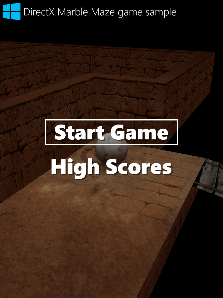 Direct X  Telerik Windows Universal Programming for Windows 8.1 Marble Madness