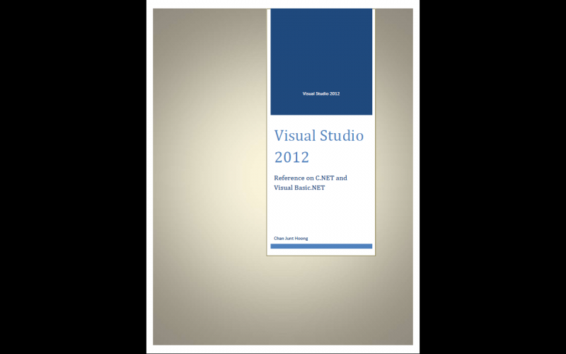 Visual Studio Source Codes