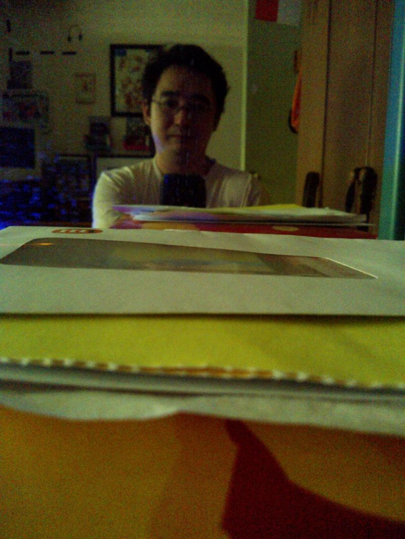 Self Portrait of Junt Hoong Chan in my Small Office Home Office